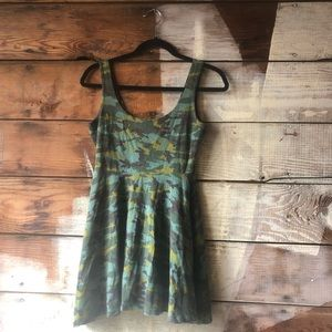 Sparkle and Fade Urban Outfitters Camo Dress